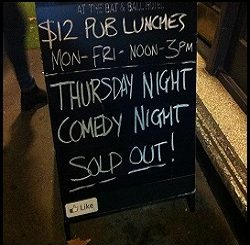 Sydney Comedy Venues