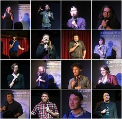 Final '10 Comedians for $10′ Show for 2016